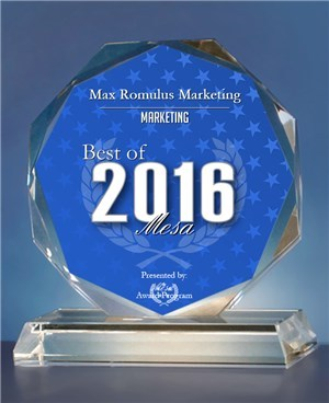 Max-Romulus-Marketing-Receives-2016-Best-of-Mesa-Award