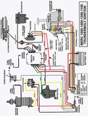 Mercury Outboard Wiring diagrams  Mastertech Marin