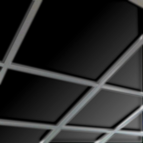 black plaster ceiling tile box of 8