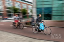 Cyclists in Amsterdam 3