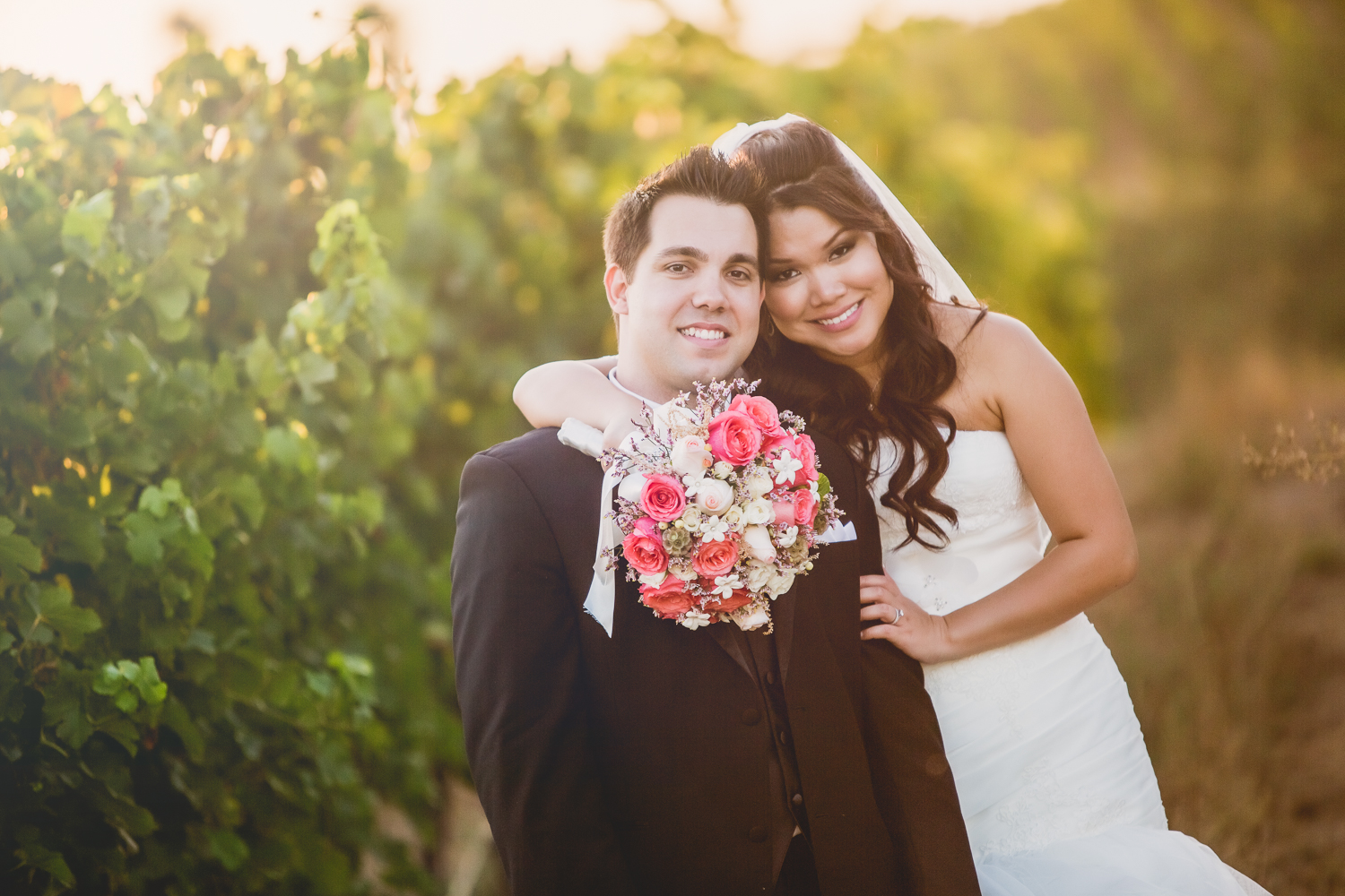 rob + jen | Falkner Winery Wedding