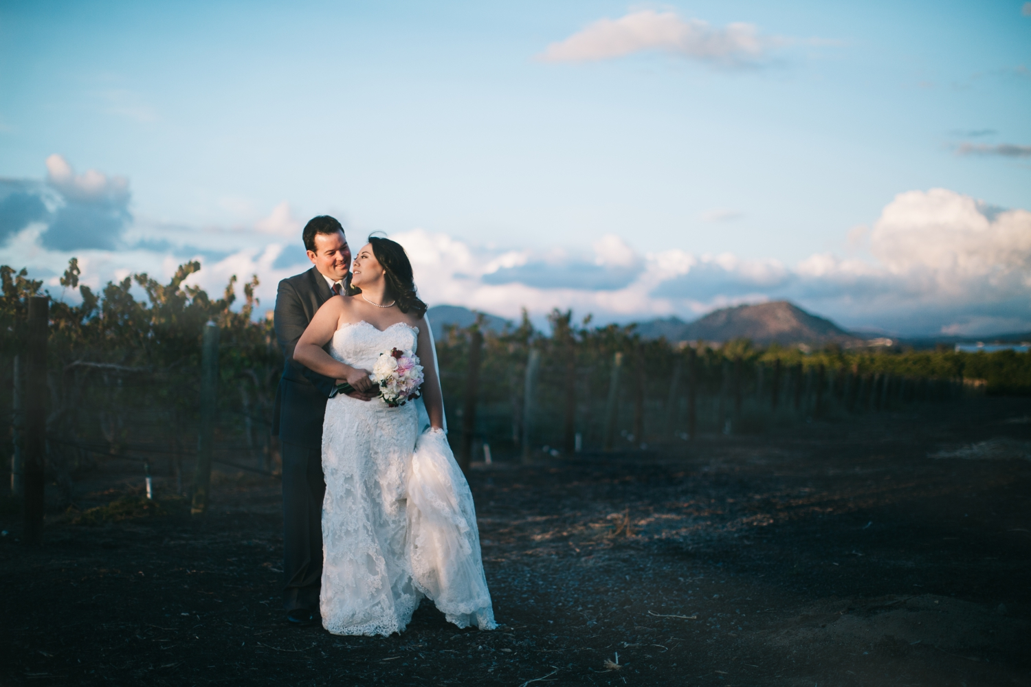 tina + ryan | Wiens Winery Temecula Wedding