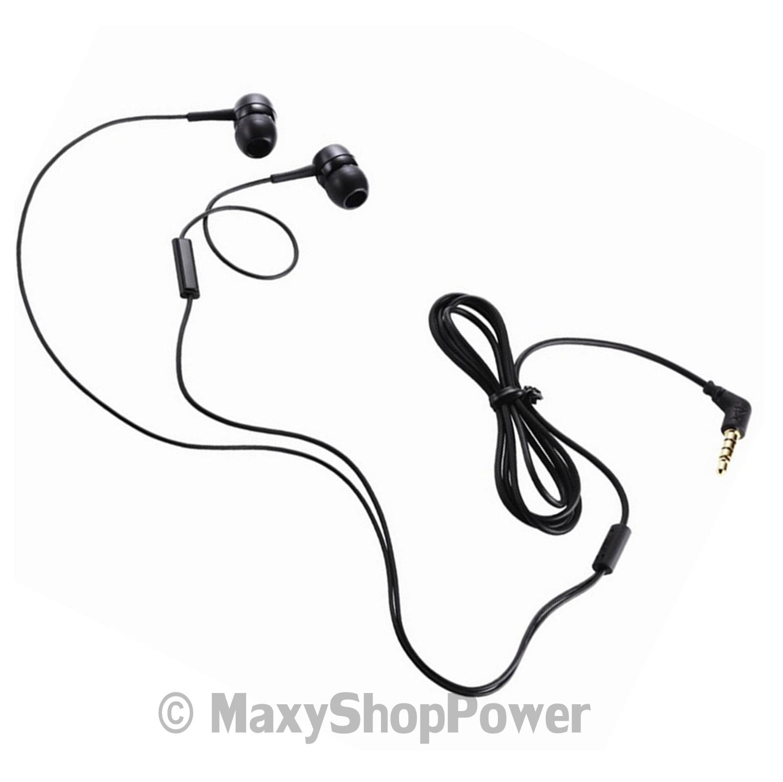 Lg Auricolare Originale Stereo In Ear Sgey Black Bulk