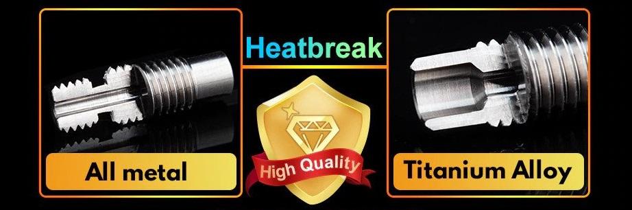 all metal v6 throat