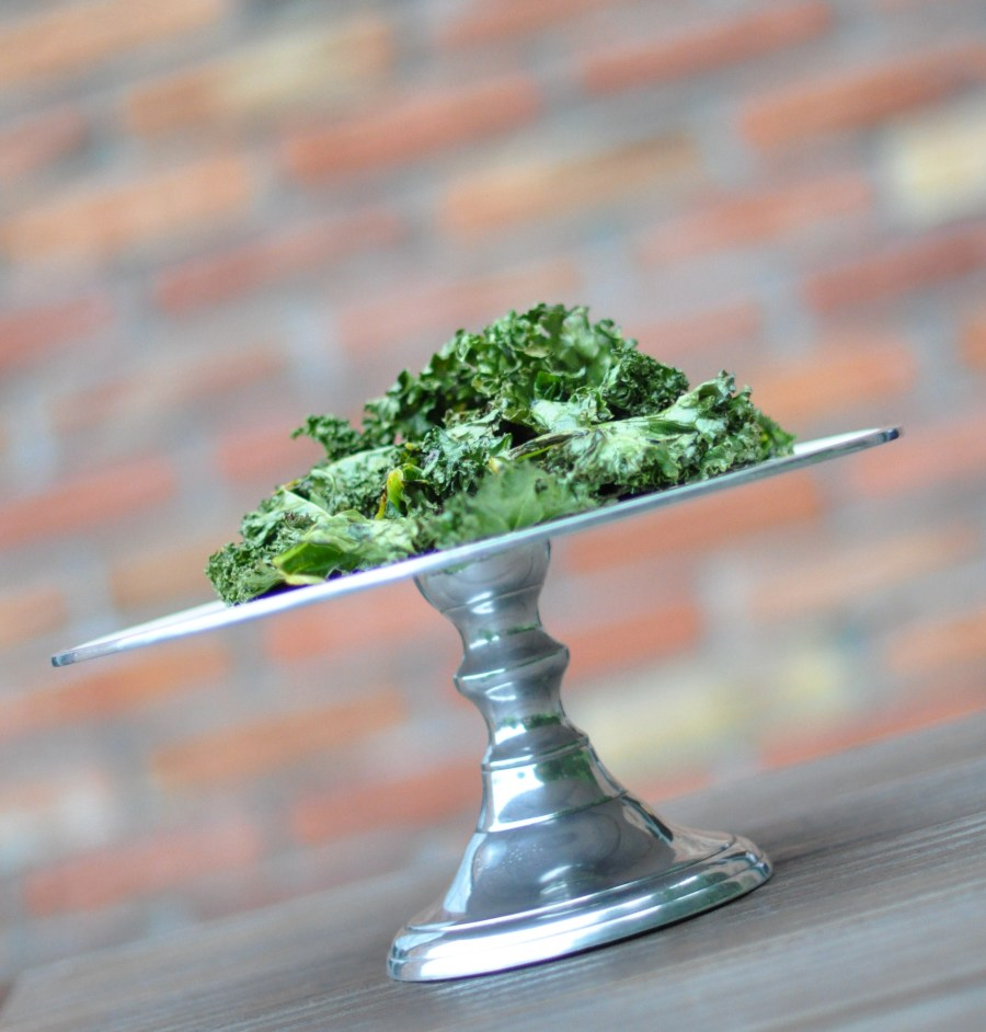 Kale chips (by Joanna)