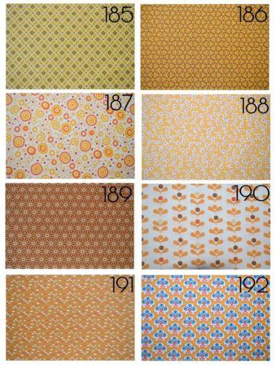 Cotons 185 à 192