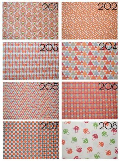 Cotons 201 à 208