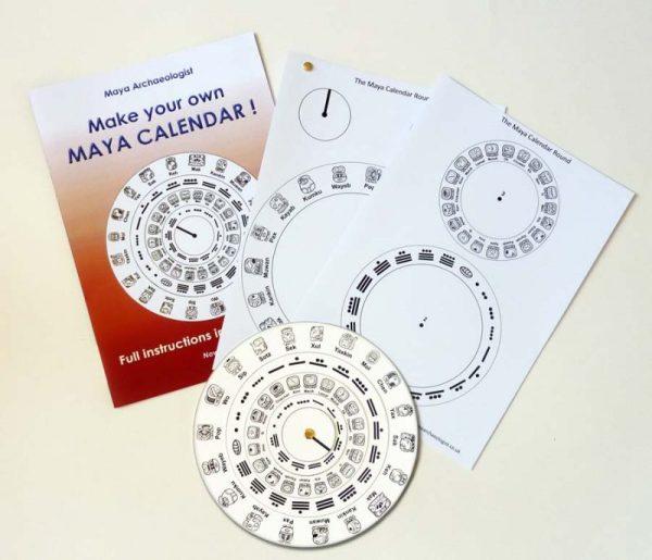 Maya calendar - paper