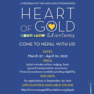 Heart of Gold Adventures application