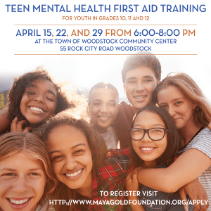 link to tMHFA registration for Woodstock April 2021