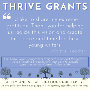 link to Thrive Grants application