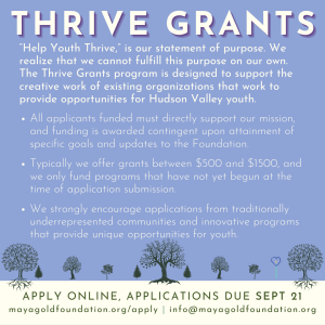 Link to THRIVE application