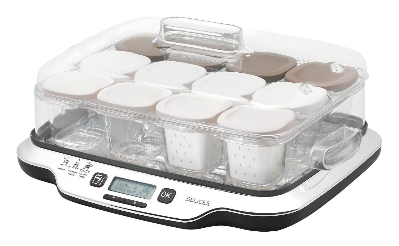 Test de la yaourti re seb multid lices 12 pots - Yaourtiere seb multi delice 6 pots ...