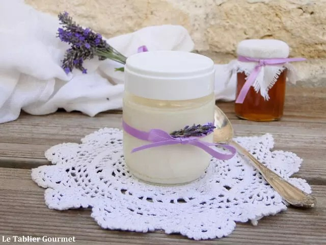 recette de yaourt miel et lavande