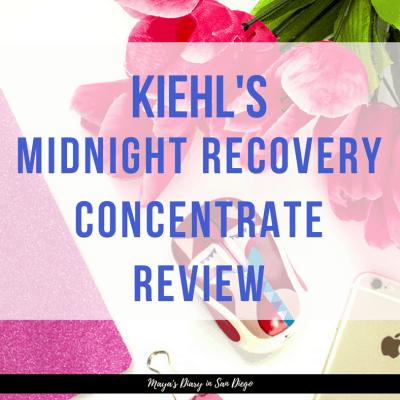 時短スキンケアとしてもおすすめ!キールズのMidnight Recovery Concentrate