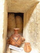 Ein Duplicat des Grabes mit Mummien