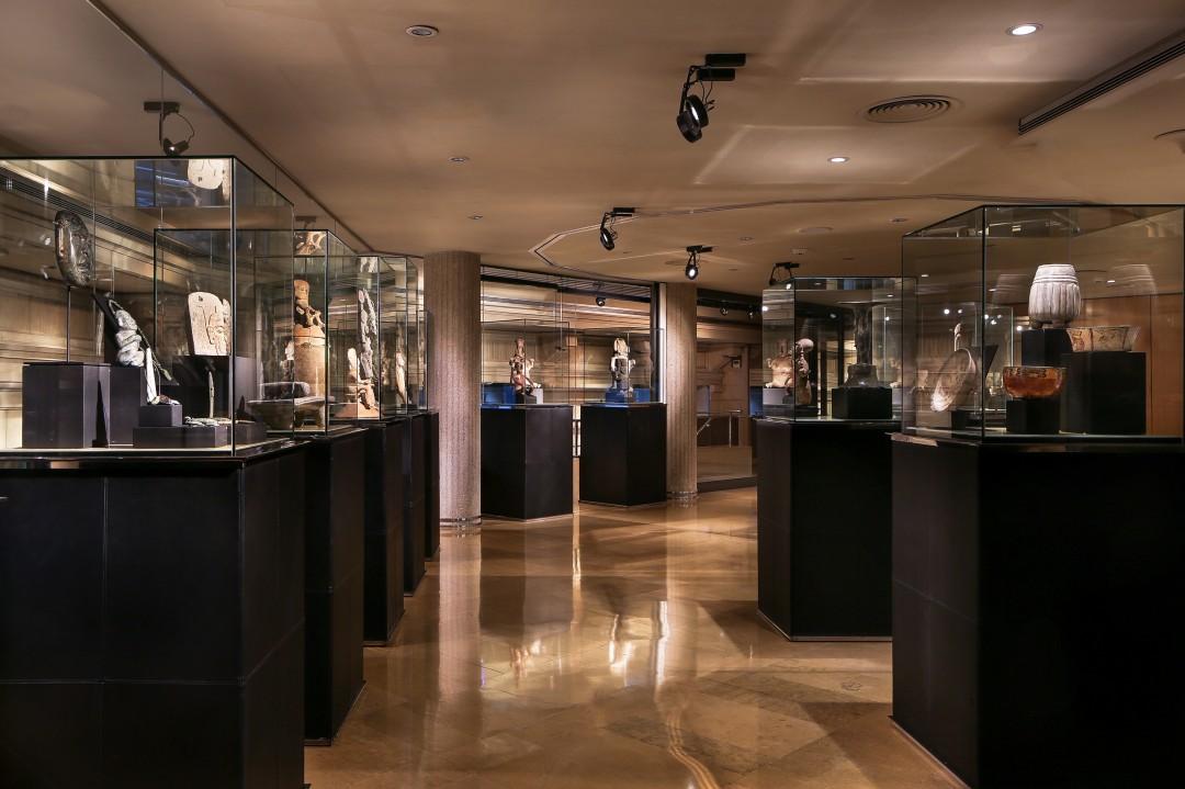 Exposition permanente sur les Mayas au sein de l'hôtel Claris à Barcelone