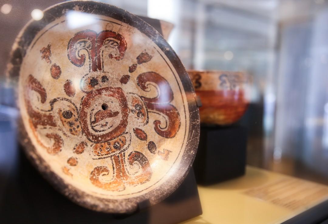 Assiette Maya période classique (-900 à +700).