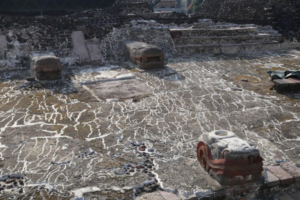 Détail du Templo Mayor, Mexico © M.C.