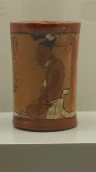 Céramique, culture maya (600-900 ap J.C)