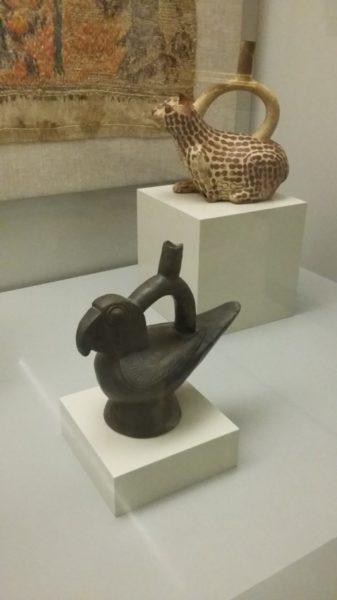 Vases, céramique, culture Mochica (100 av J.C. à 700 ap J.C.)