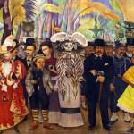 Mural de Diego Rivera, Sueño de una tarde dominical en la Alameda Central