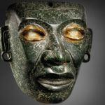 Masque de Teotihuacán mis à la vente le 9 février chez Christie