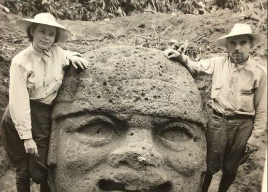 Marion Stirling Pugh et son mari, photo d'archive du Smithsonian NAA