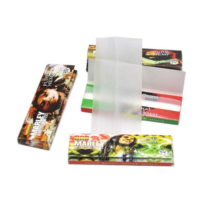 Bob Marley Rolling Paper 1 1/4 Pure Hemp