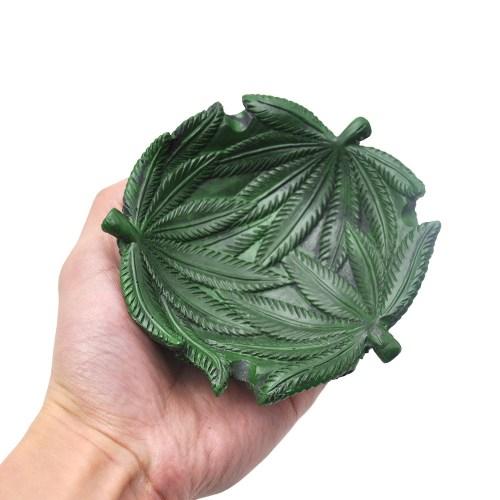 Weed Shaped Resin Ashtray