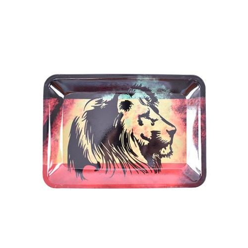 Rasta Lion Rolling Tray