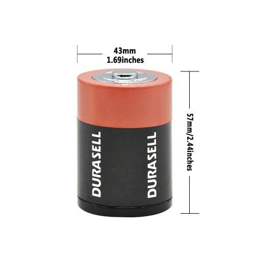 Battery Shaped Weed Grinder