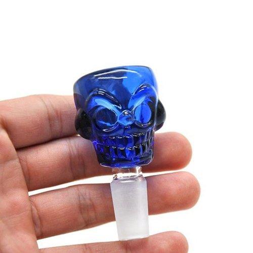 Skull Glass Bowl For Bong