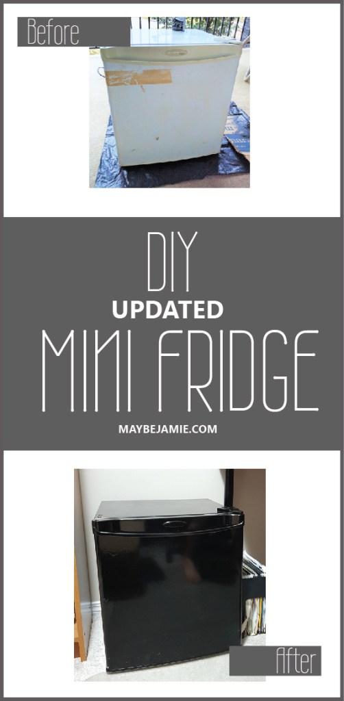 DIY Updated Mini Fridge 2