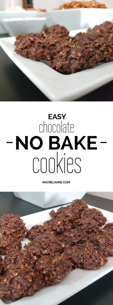 Easy Chocolate No Bake Cookies