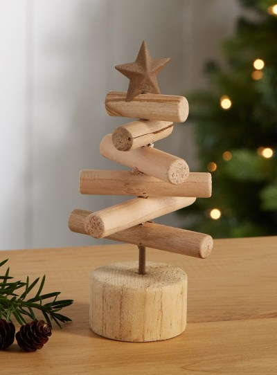 Holiday Decor Under 20 - Wooden Tree