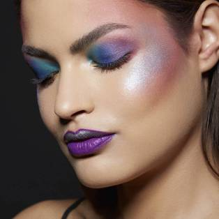 Image result for unicorn makeup african american