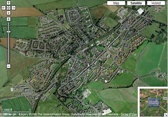 Google Maps UK   Maybole