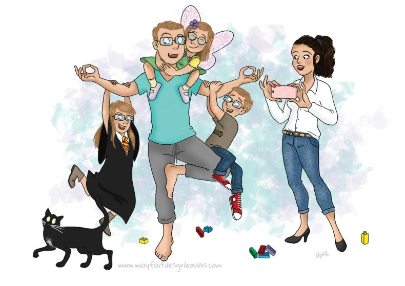 Illustration Personnalisée - © www.mayfaitdesgribouillis.com