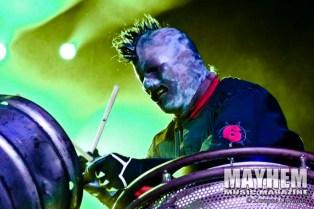 "Shawn ""Clown"" Crahan (#6) of Slipknot"