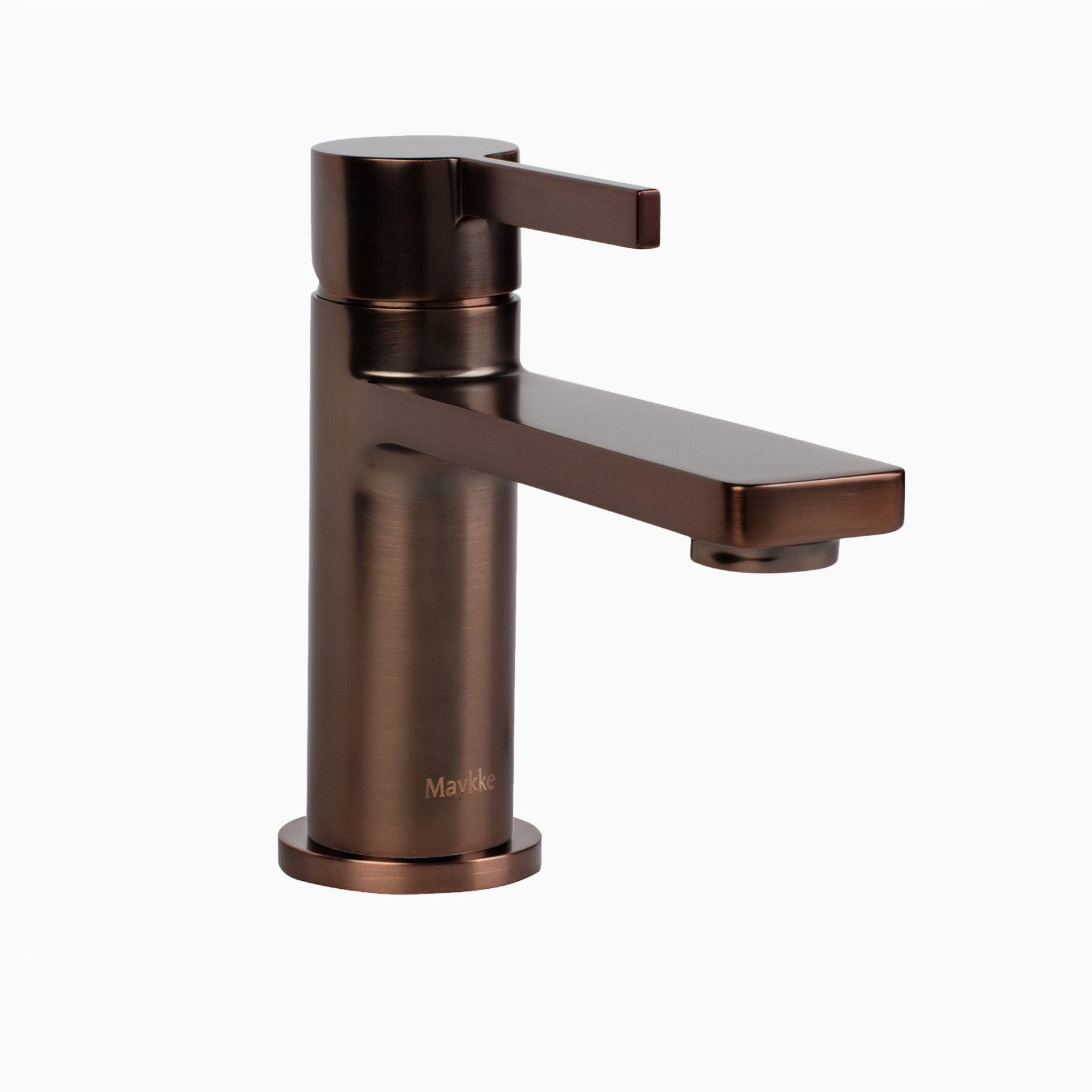 friedrich single lever sink faucet brushed bronze