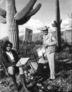 Maynard Dixon Photographs Maynard Dixon 1942 Tucson AZ