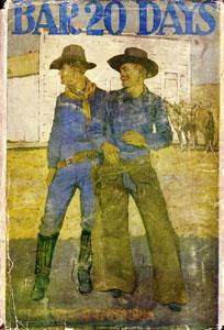 Books Illustrated by Maynard Dixon - BAR 20 DAYS Clarence E. Mulford