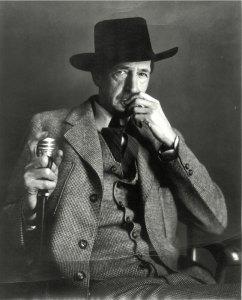Maynard Dixon Photographs Maynard Dixon Black Hat Cane