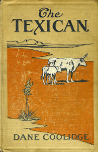 Books Illustrated by Maynard Dixon - THE TEXICAN Dane Coolidge