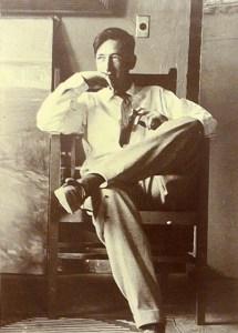 Maynard Dixon in Studio