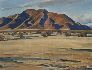 Remembering Maynard Dixon Desert Hills Maynard Dixon