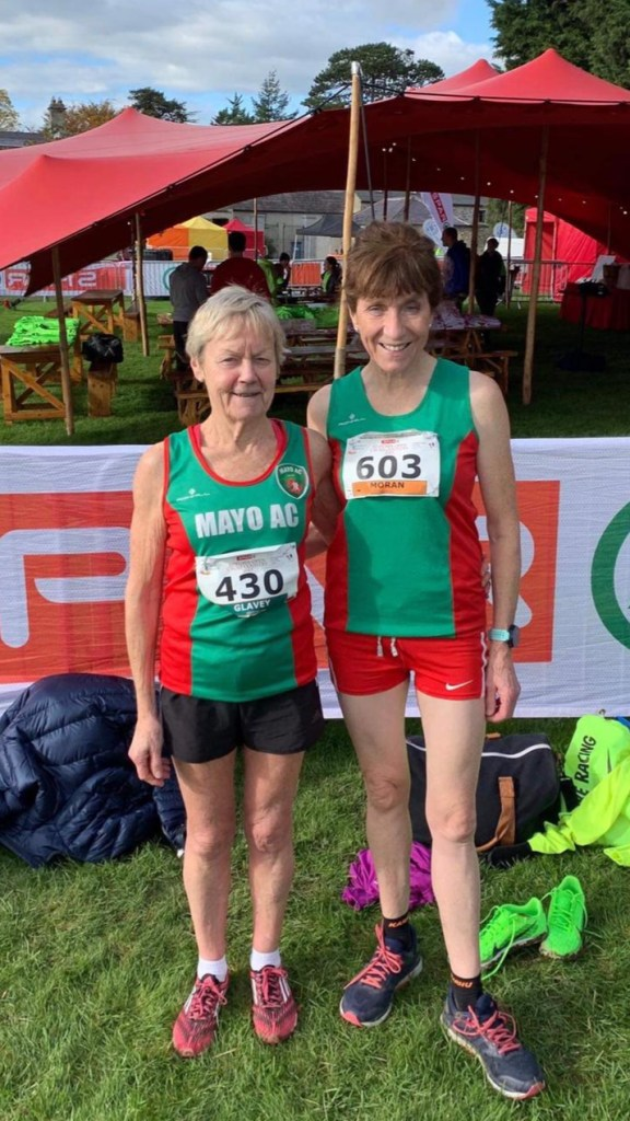 Mags Glavey and Pauline  Moran enjoyed sunshine and success at Abbotstown