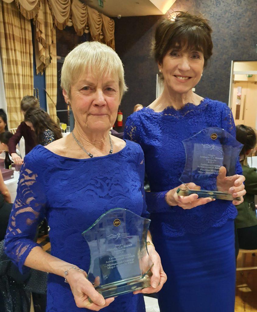 Extraordinary Achievement Awards: Mags Glavey and Pauline Moran
