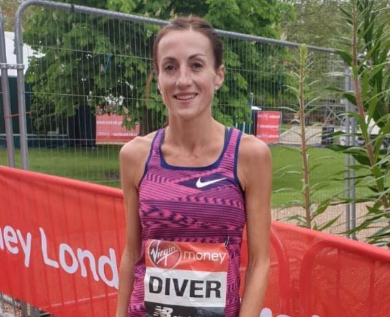 Sinéad Diver finished 7th in 2019 London Marathon in 2:24.11 pb